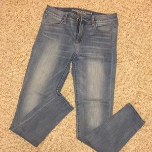 American Eagle mid-rise jeans